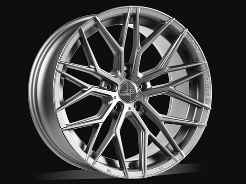 21x10 305Forged Wheels Flow Technik FT107 Hyper Silver
