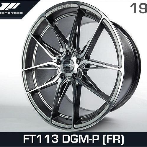 19x9.5 305Forged Rims Flow Technik FT113 DGM-P