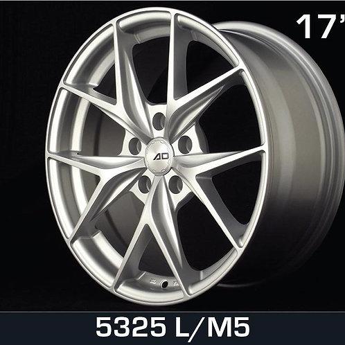 17x7.5 AD Wheels 5325