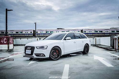 [NEW ARRIVAL] 19x9.5 305Forged Wheels Flow Technik FT115 Gloss Black Black Clear