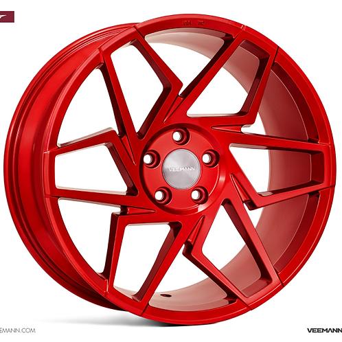 19x9.5 Veemann Wheels VFS-27F Candy Red