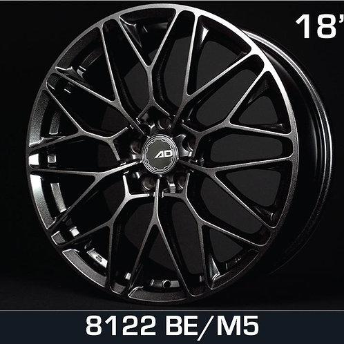 18x8.0 AD Wheels 8122