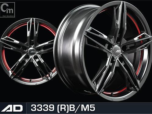 18x8.0 AD Wheels 3339
