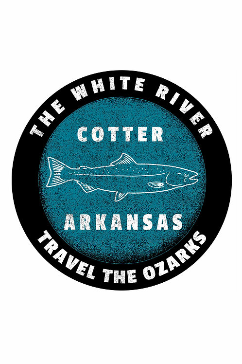 Travel The Ozarks T-Shirt - White River