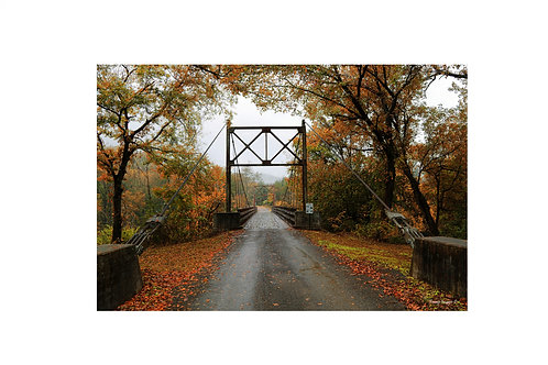 Sylamore Swinging Bridge - Print