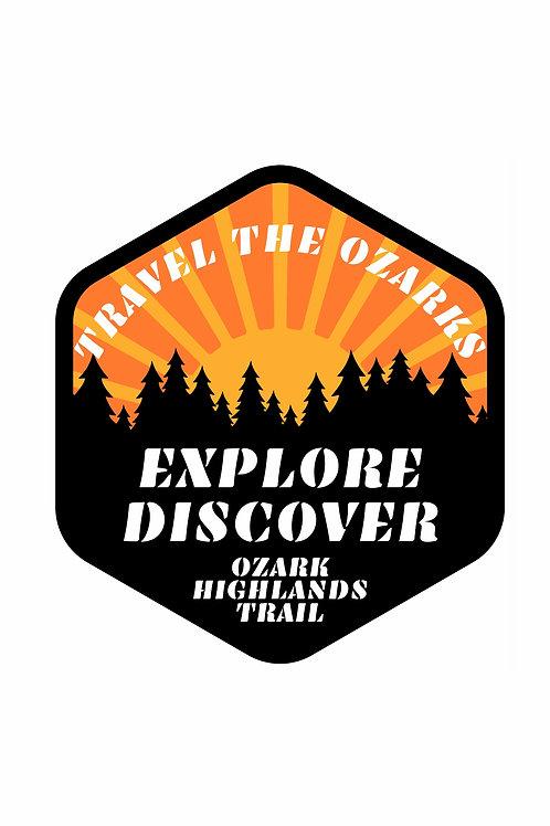 Travel The Ozarks T-Shirt - Trail
