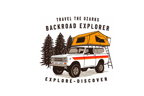 Travel The Ozarks T-Shirt - Scout