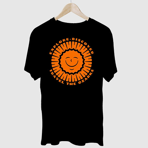 """Sunshine""  Travel The Ozarks-   T-Shirt"