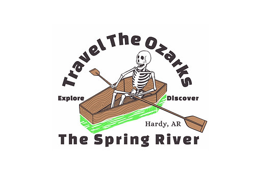 Travel The Ozarks T-Shirt - The Spring River
