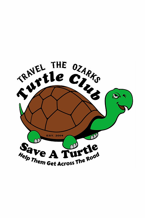 Travel The Ozarks- Turtle Club -  Poster