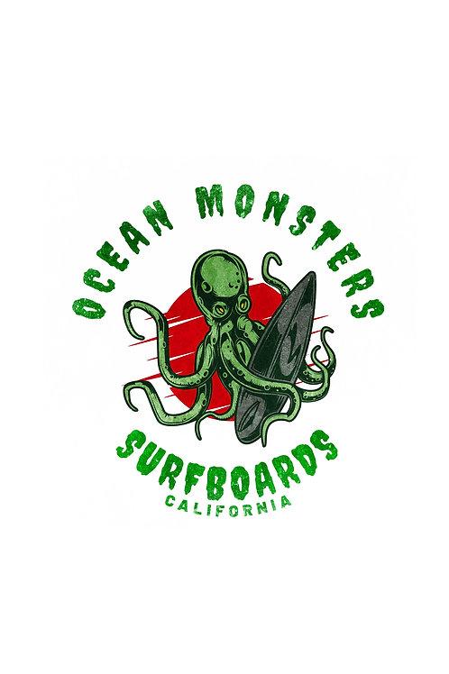 Ocean Monsters Surfboards T-Shirt