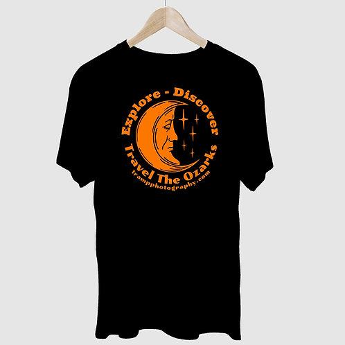 """Moon""  Travel The Ozarks-   T-Shirt"