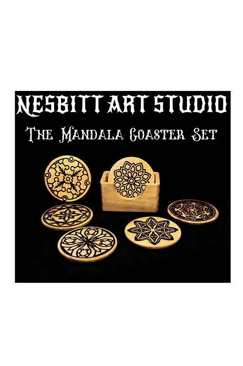 The Mandala Coaster Set