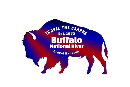 Travel The Ozarks- Buffalo River -  Poster