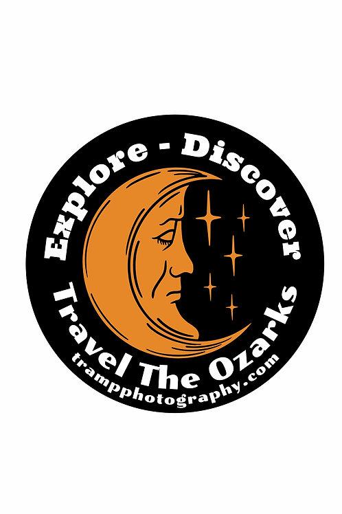Travel The Ozarks T-Shirt - Moon