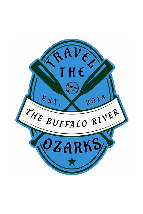 Travel The Ozarks T-Shirt - Paddle