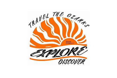 Travel The Ozarks T-Shirt - Sun