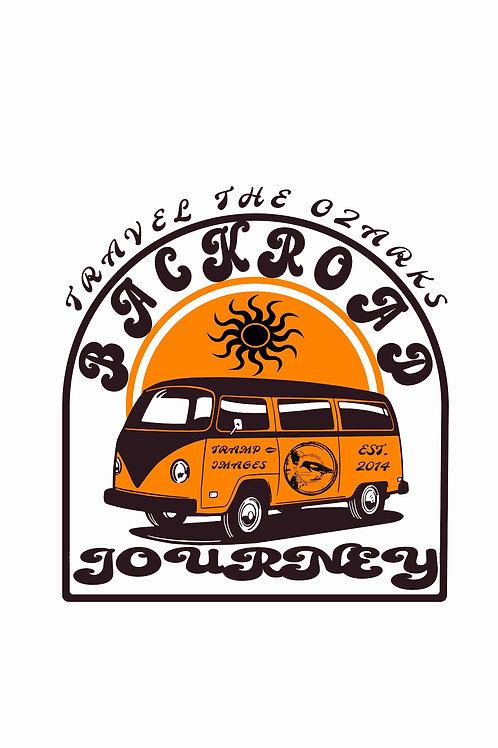 Travel The Ozarks T-Shirt - Backroad Journey