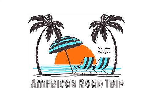 American Road Trip  T-Shirt - Beach