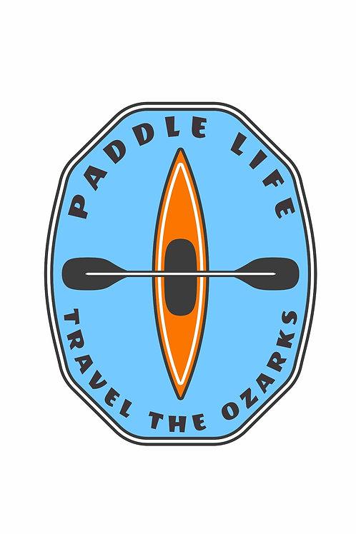 Travel The Ozarks T-Shirt - Kayak