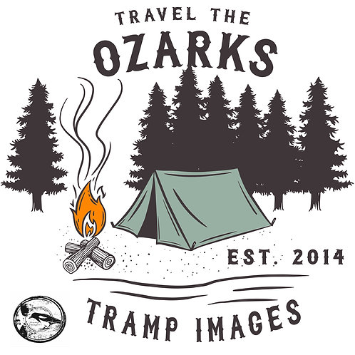 Travel The Ozarks T-Shirt - Camping