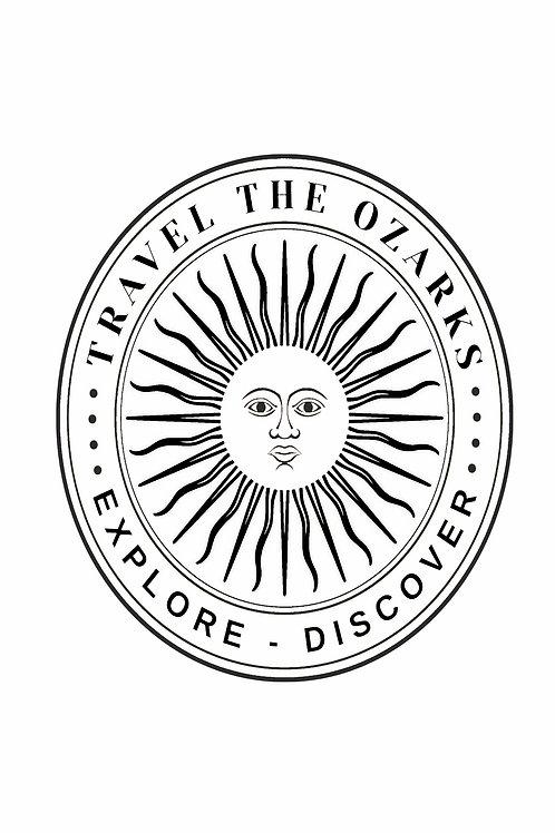 Travel The Ozarks T-Shirt - Sun / Plain