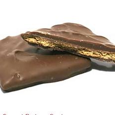 Graham Crackers Covered in Milk Chocolate