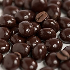 Espresso Beans Covered in Dark Chocolate