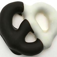 Dark and White Chocolate Covered Pretzel
