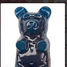 5lb Gummy Bear Blue Raspberry
