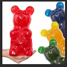 5LB Gummy Bear Cherry