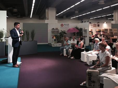 Vortrag . TENDENCE 2017 . Messe Frankfurt
