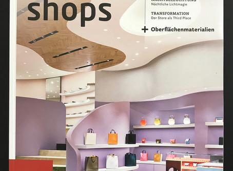 """""""stores & shops"""" . Die Macht der Farbe"""