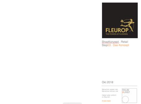 FLEUROP RetailKonzeption für Floristen