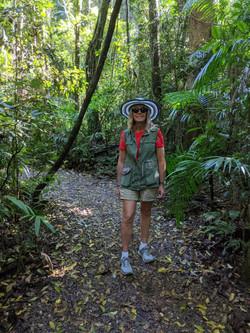 runnovation runner in forest