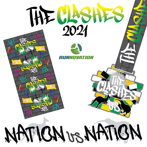 The Clashes 2021 Virtual Challenge