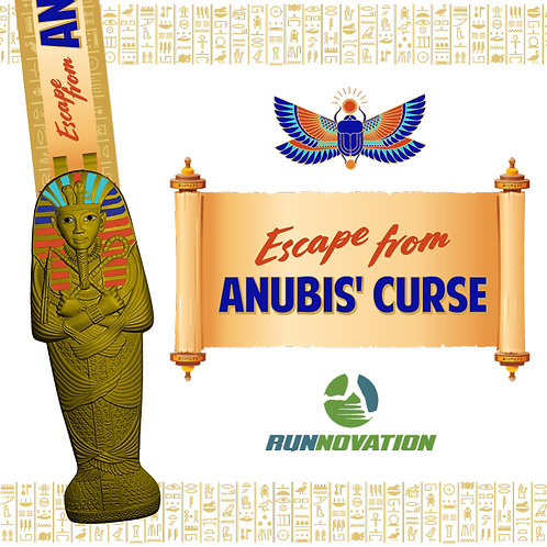 Escape from Anubis' Curse Virtual Challenge