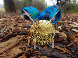 runnovation medal with holder