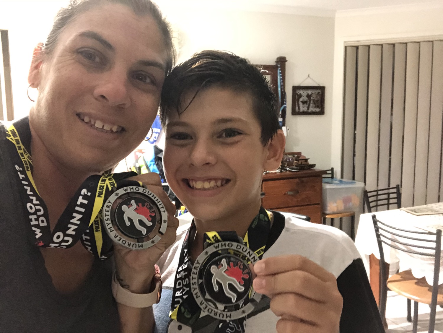 runnovation medallist mother and son
