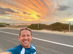 runnovation runner in beautiful landescape