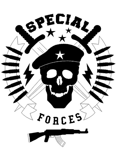 .DXF file for engraving - SPECIAL FORCES