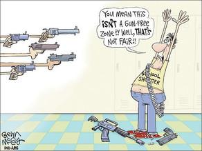 Gun Free Zones Work Both Ways