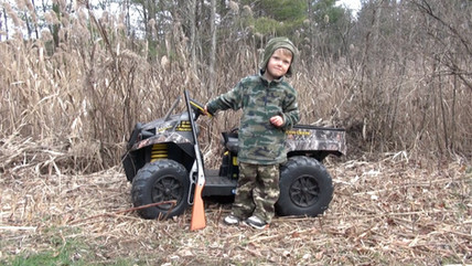 Hunting Helps Boys Become Men - by Ligia Brubaker