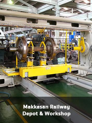 Makkasan Railway Depot & Workshop