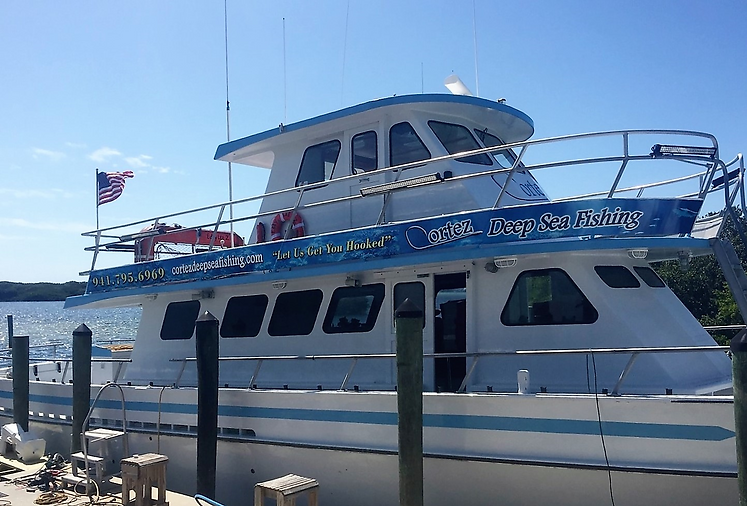 Cortez Deep Sea Fishing offers Deep Sea Fishing Charters off the shores of Anna Maria Island and Bradenton Beach, Experience the Best Fishing in Florida. deep sea fishing, ocean fishing, fishing trips, anna maria island, bradenton beach, fishing charters