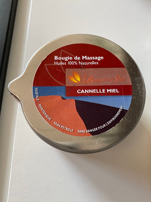 Bougie de massage Cannelle Miel