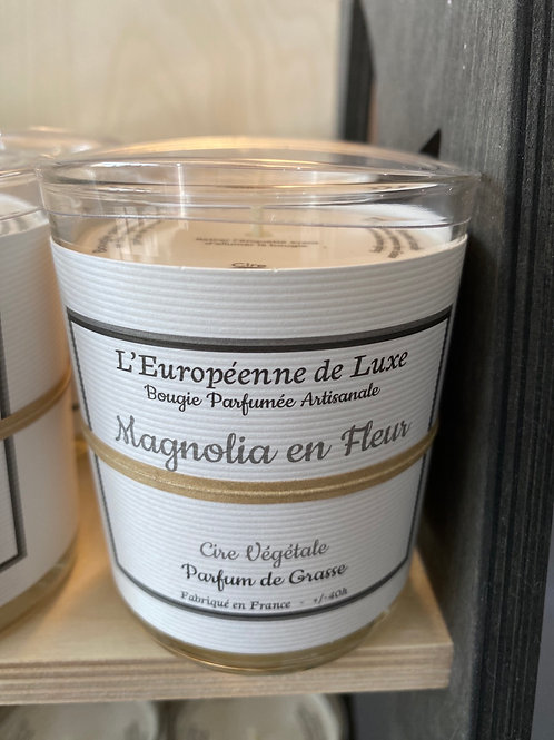 Bougie parfumée Magnolia en Fleur