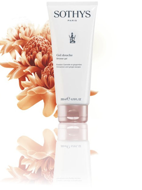 Gel douche cannelle gingembre