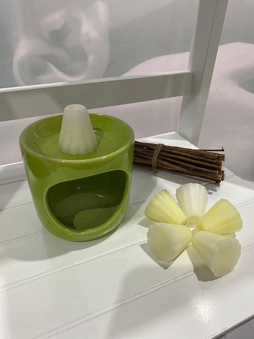 Brule parfum vert + 6 cannelés