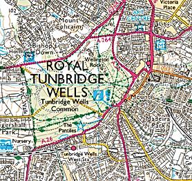leaflets distribution Kent, Royal Tunbridge Wells